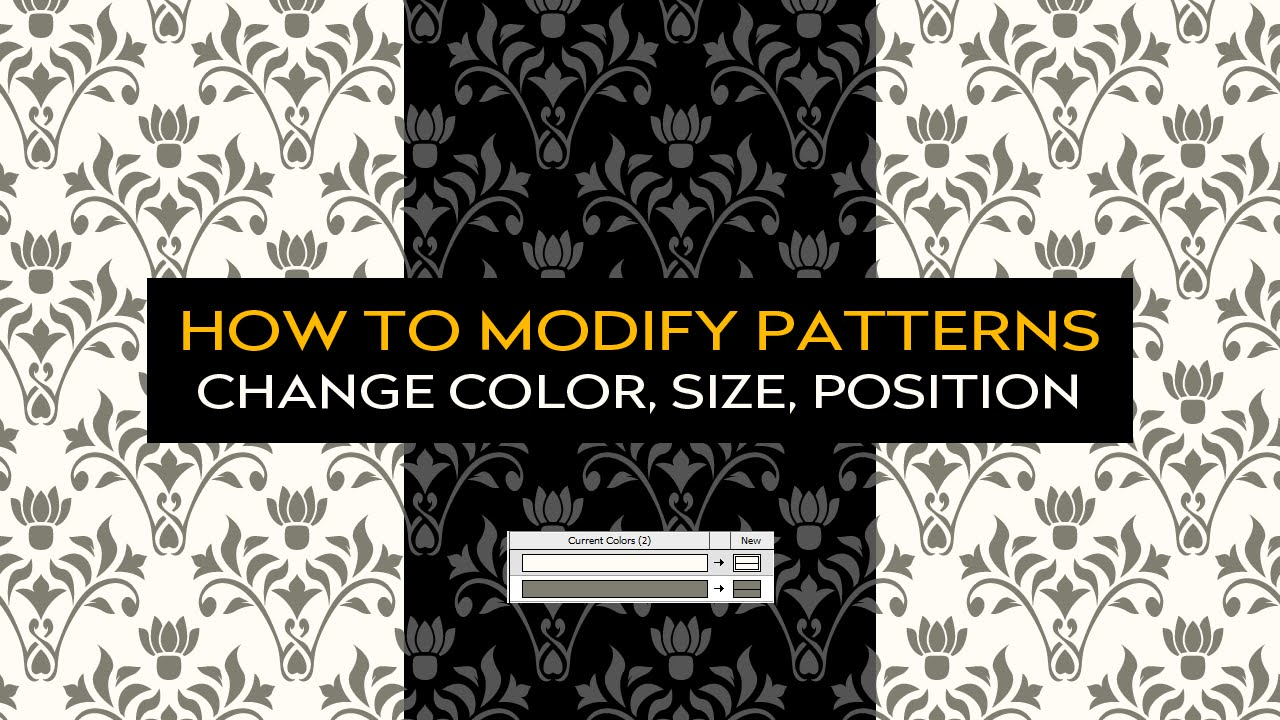 1280x720 How To Use And Modify Vector Patterns In Illustrator