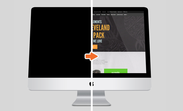 635x385 Technology Mockup Templates Pack