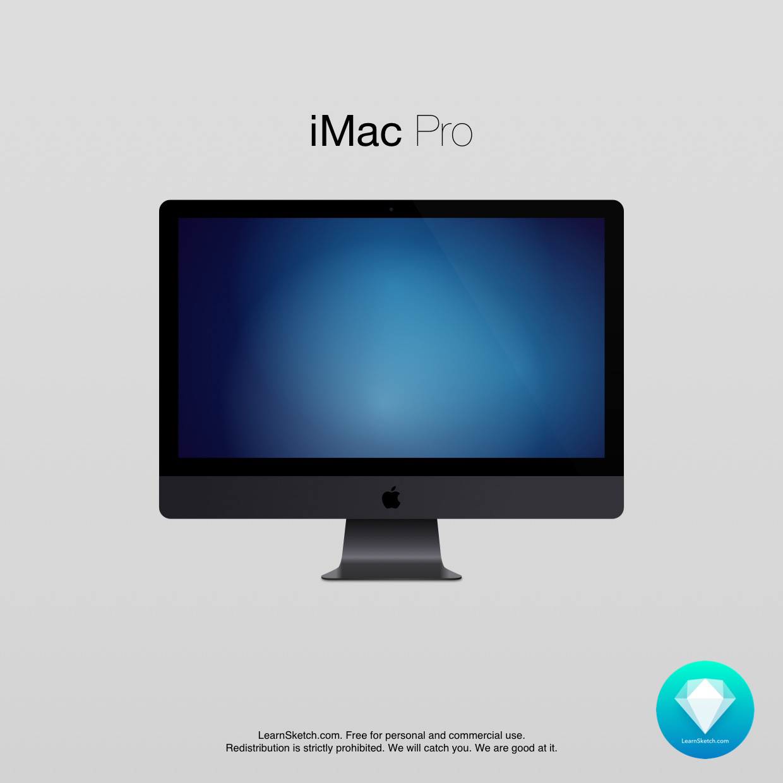 1240x1240 Imac Pro Free Mockup