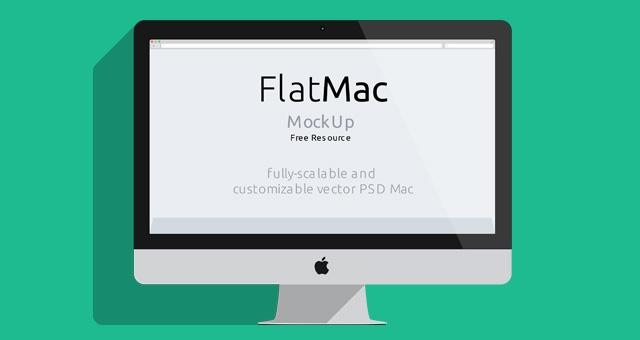 640x340 Imac Amp Macbook Psd Flat Mockup Psd Mock Up Templates Pixeden
