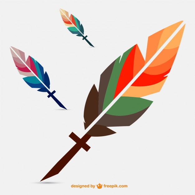 626x626 Free Vector Feather Download