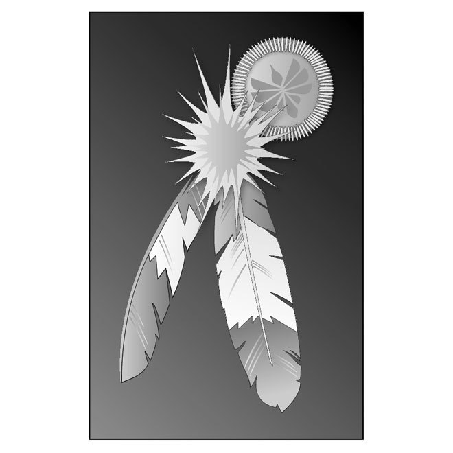 660x660 Indian Feathers Free Vector 123freevectors