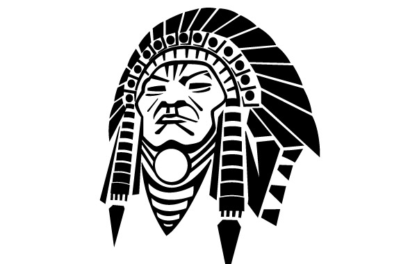 600x380 Free Download Of Indian Chief Headdress Vector Graphics And