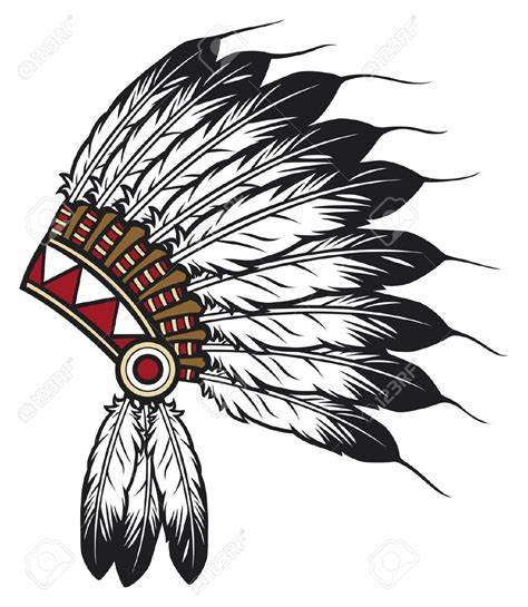 474x545 Indian Head Vector. Indian Head Clip Art Hasshe