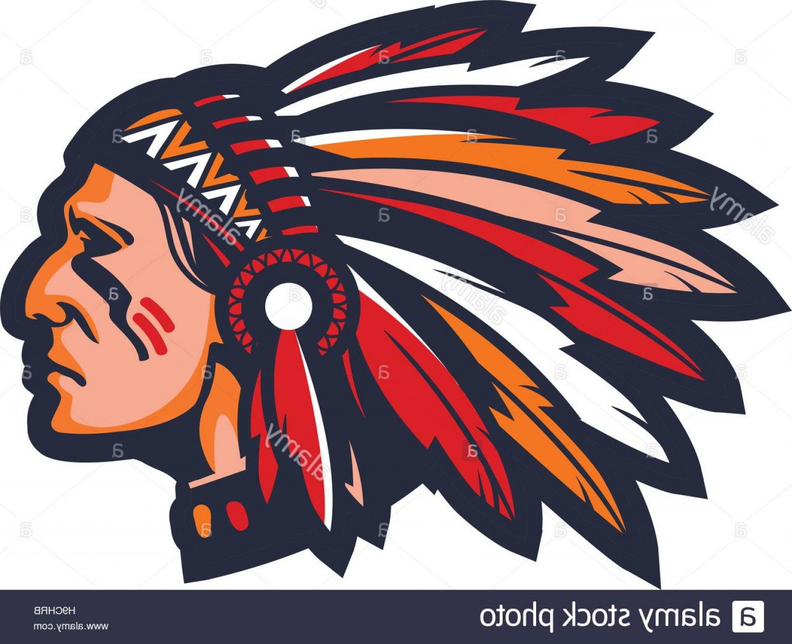 1560x1269 Stock Photo Indian Chief Logo Or Icon Vector Mascot Lazttweet
