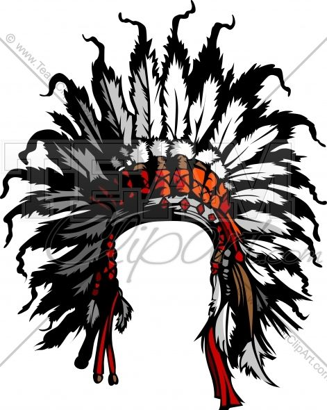 471x590 Clipart Indian Headdress Image. Easy To Edit Vector Format