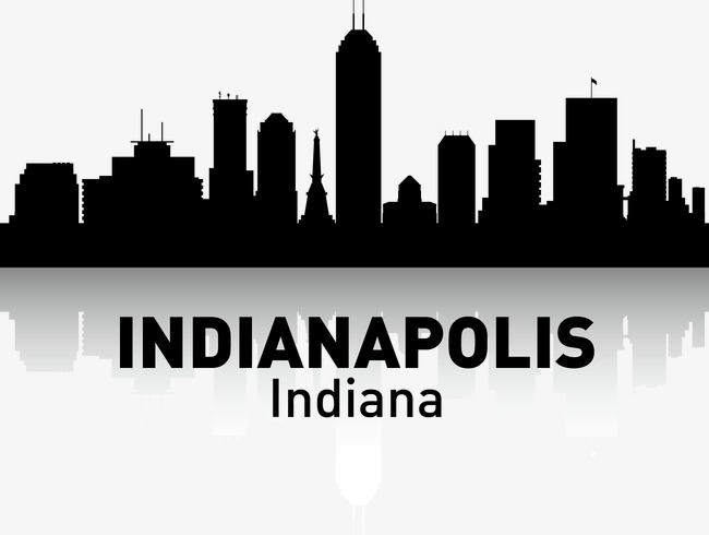650x490 Indianapolis, City Silhouette, City, City Png And Vector For Free