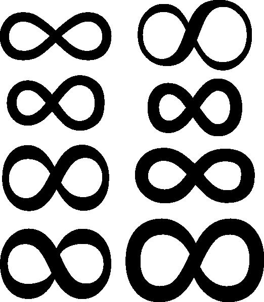 522x599 Infinity Symbol Clip Art Free Vector 4vector