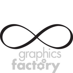 300x300 Clipart Of Infinity Symbol Vector Design. 392483 Royalty Free