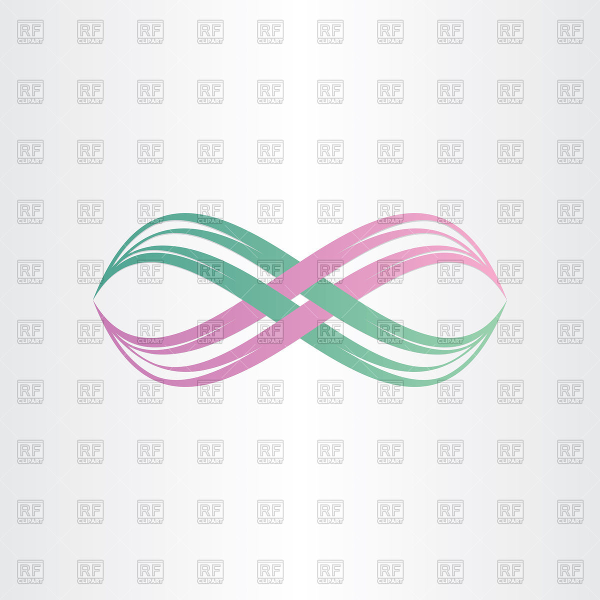 1200x1200 Infinity Symbol Stylized Icon Vector Image Vector Artwork Of