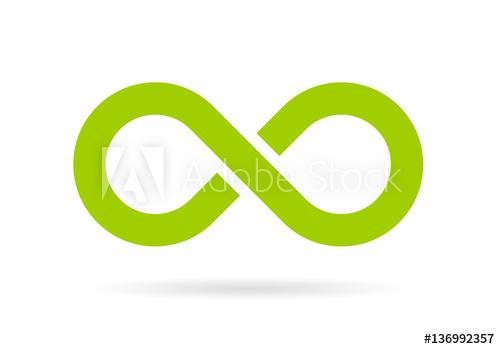 500x349 Green Infinity Vector Symbol