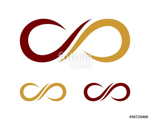 500x400 Ornament Infinity Logo Template Stock Image And Royalty Free
