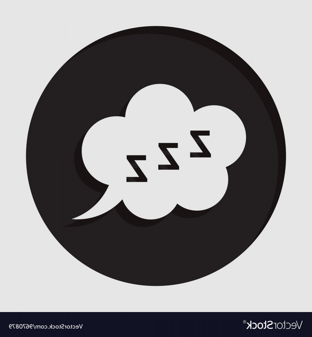 1198x1296 Information Icon Zzz Speech Bubble Vector Geekchicpro