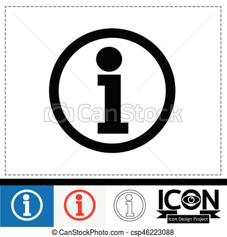 450x470 Free Info Icon Vector 202926 Download Info Icon Vector
