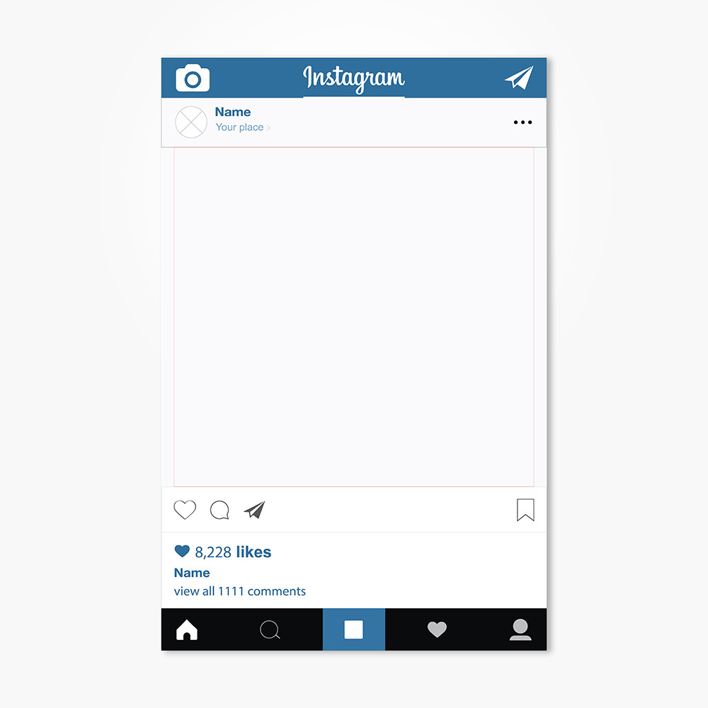 Instagram Frame Vector at GetDrawings com | Free for