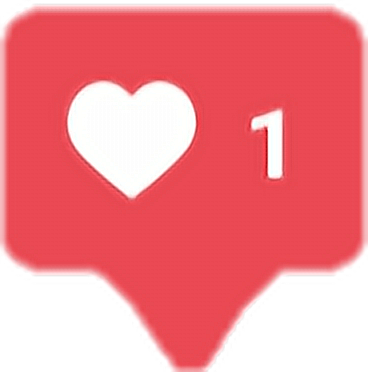 Instagram Heart Vector
