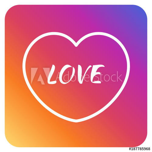 500x500 Heart Instagram Love Valentines Day