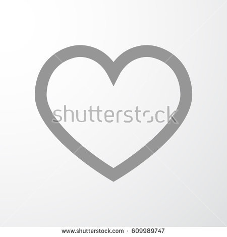 450x470 Instagram Heart Icon Vector