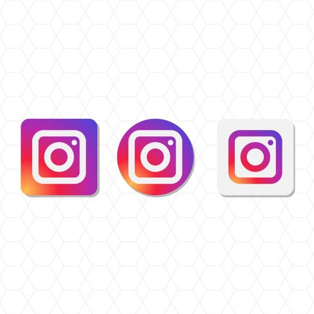 626x626 Instagram Logo Pack Vector Free Download