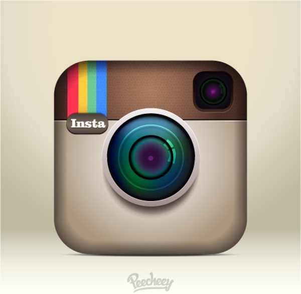 600x586 Instagram Icon Free Vector In Adobe Illustrator Ai ( .ai ) Vector