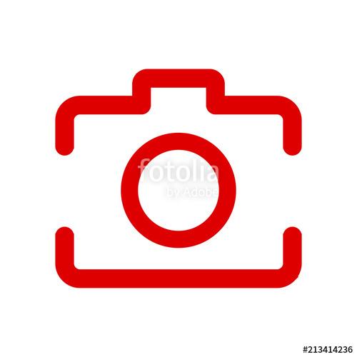 500x500 Social Media Icon, Red Photo Camera Instagram Icons