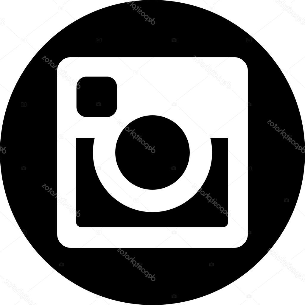 1024x1024 Best Hd Black And White Instagram Icon Vector Cdr Free Vector