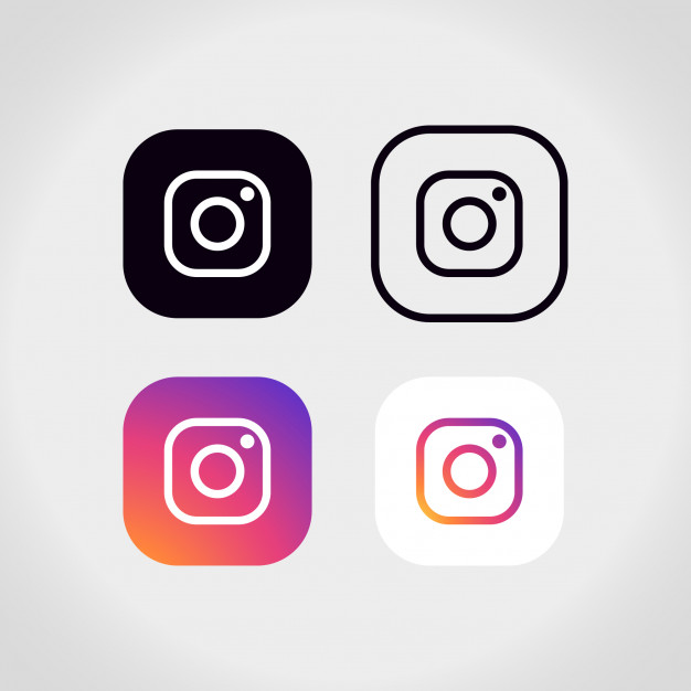 626x626 Instagram Logo Collection Vector Free Download