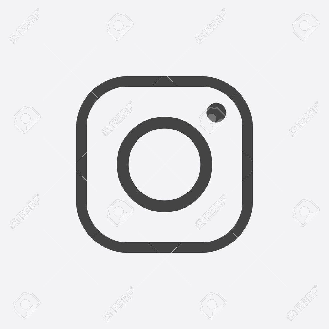 1300x1300 Free Instagram Icon White Vector 305229 Download Instagram Icon