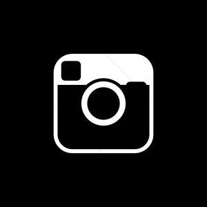 300x300 Instagram Logo Black And White Transparent Arenawp