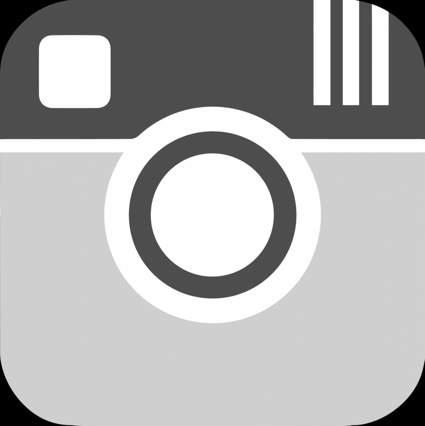 1436x1440 Breathtaking Instagram Logo Vector Black And White With Additional