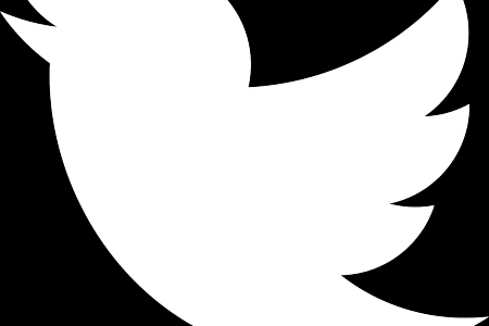 450x300 Collection Of Free Twitter Vector Logowhite. Download On Ubisafe