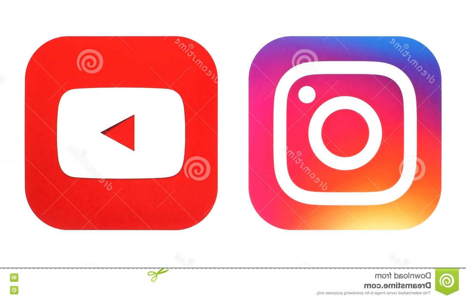 1560x1004 Editorial Stock Image Instagram New Logo Youtube Icon Printed