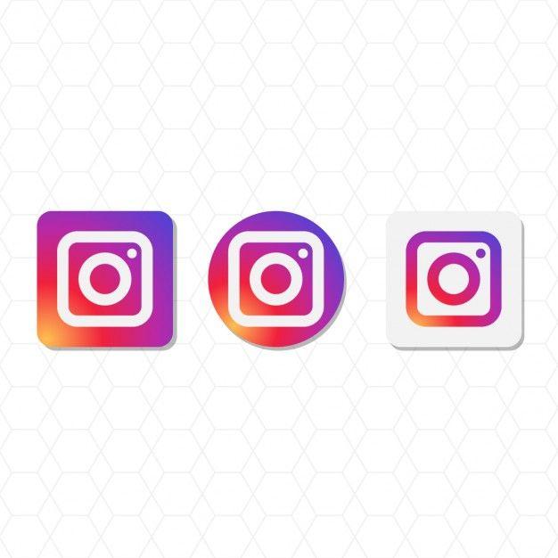 626x626 Paquete Del Logotipo De Instagram Vector Gratis Recursos