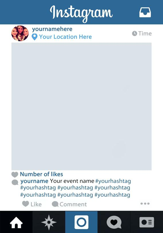 570x815 Post Template Free Vector Instagram Download Ustam.co
