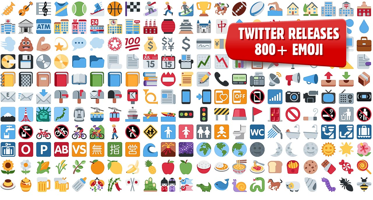 1280x687 Emoji Twitter Open Sources 872 Graphics For You To Use In Your
