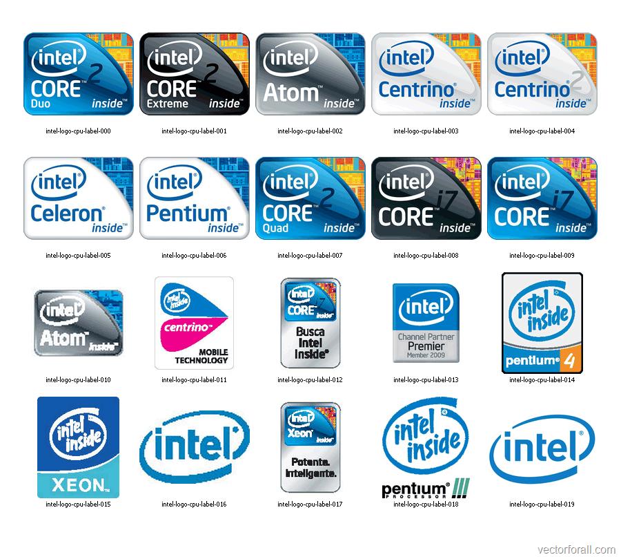 900x806 Intel Logo Clip Art