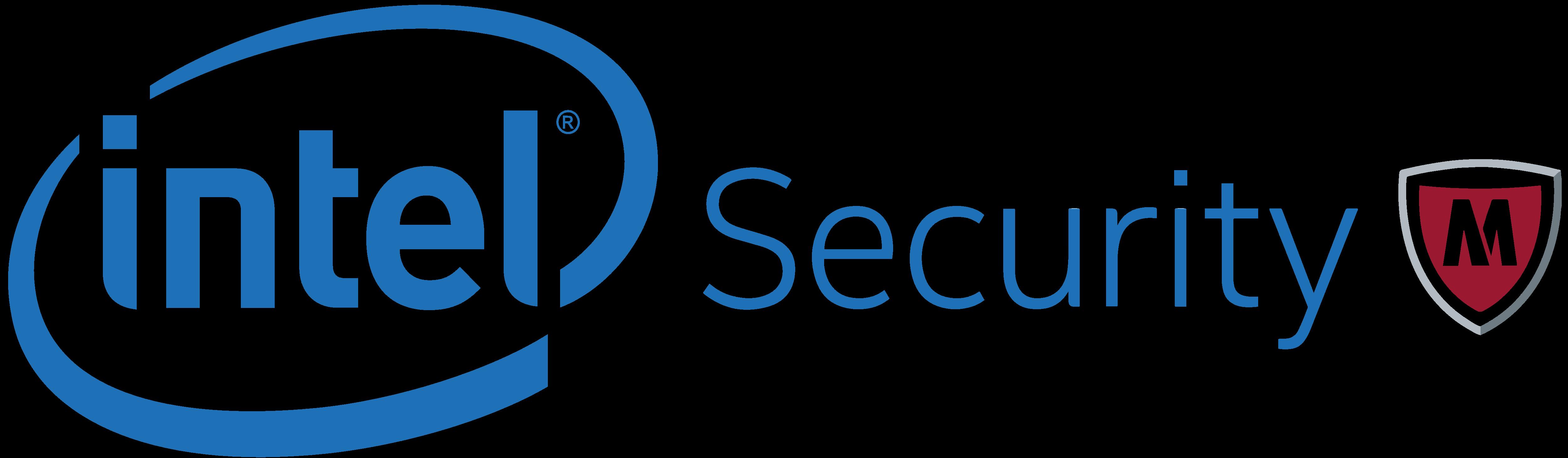 5000x1459 Intel Security Mcafee Logos Download