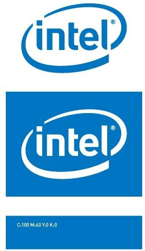 299x517 Intel Logo Vector Free Vector In Adobe Illustrator Ai ( .ai