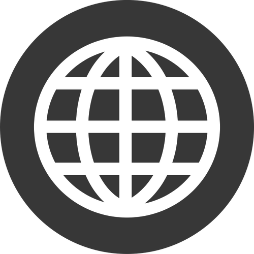 Internet Globe Icon Vector at GetDrawings com   Free for