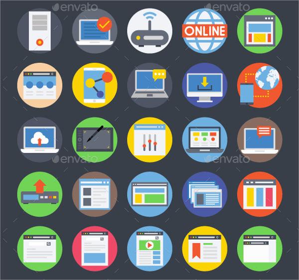 600x562 Internet Icons