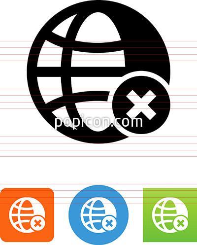 400x497 Internet Offline Icon