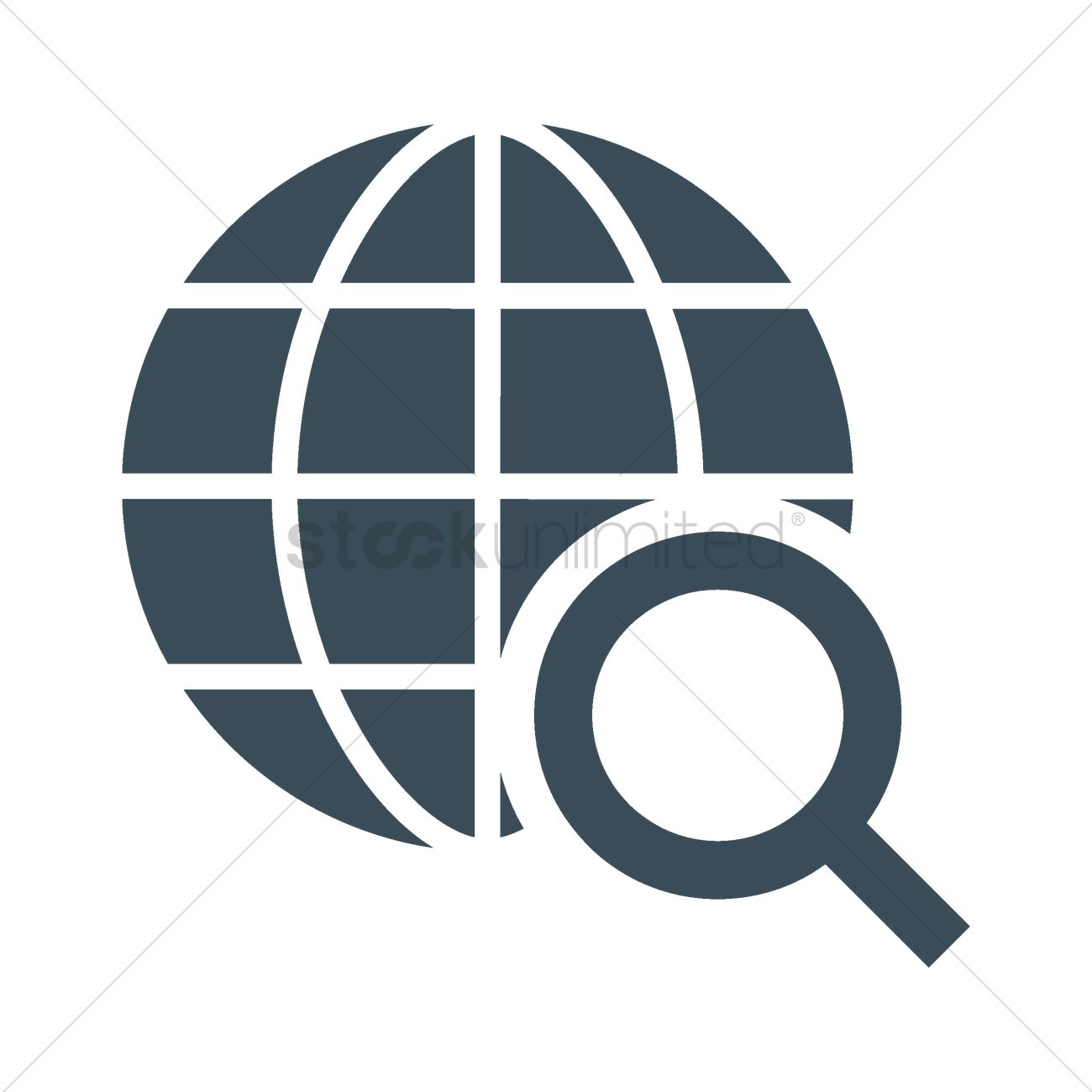 1300x1300 Internet Search Icon Vector Image