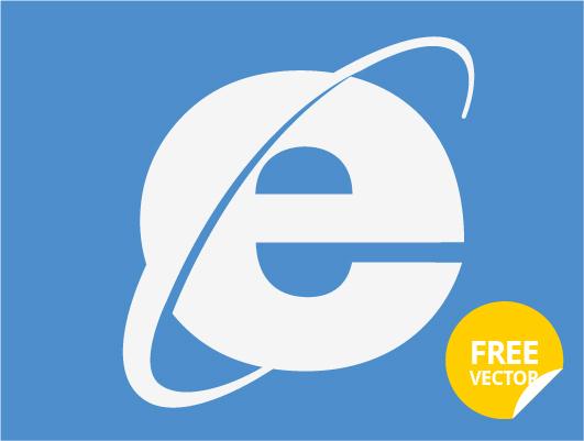 531x401 Internet Explorer Logo (Vector)