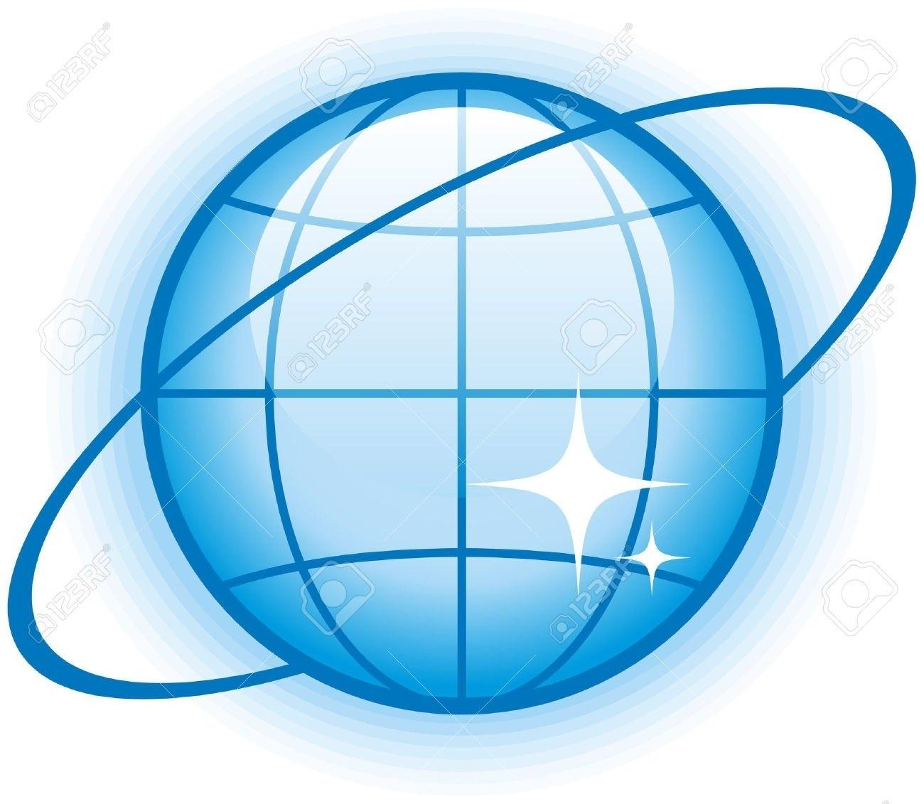 1300x1131 Internet Globe Logo Vector