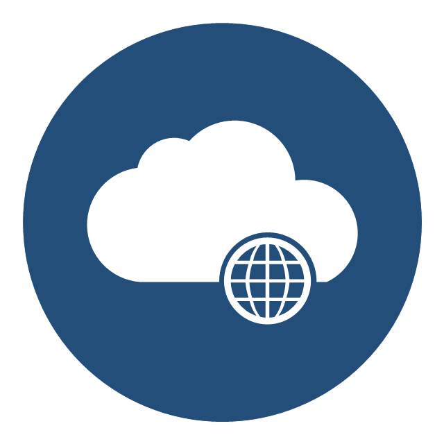 640x640 Internet Cloud Icon Vector Free Icons