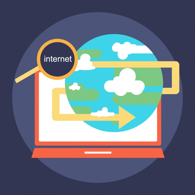 626x626 Surfing The Internet Vector Free Download