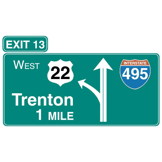 660x660 Freeway Vector Sign