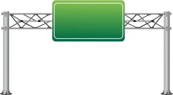 600x328 Highway Sign Vector Free Vector Download (7,376 Free Vector) For