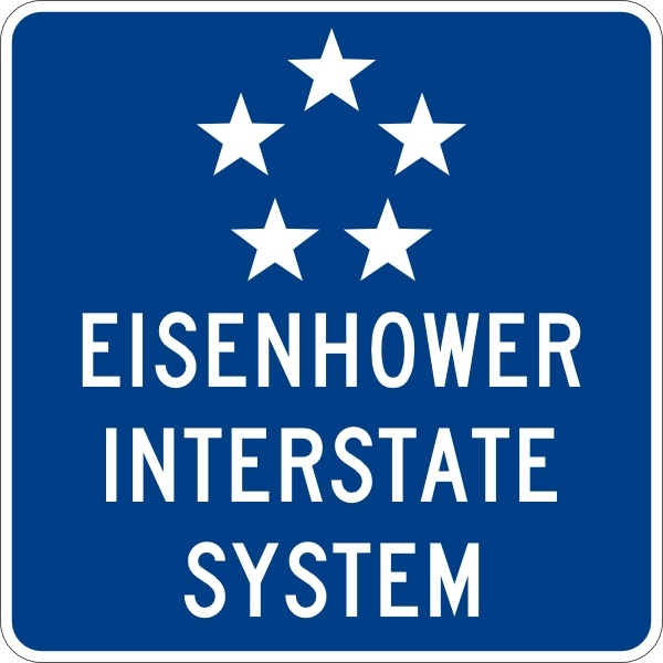 600x600 Eisenhower Interstate System Clip Art Free Vector In Open Office