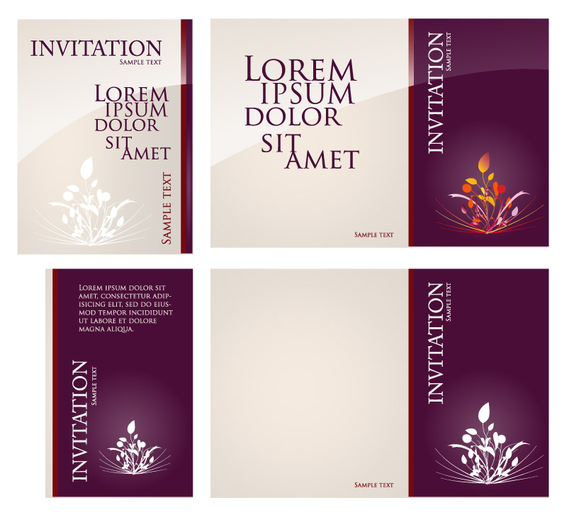 810x737 Invitation Card Background Free Vector Graphic Download